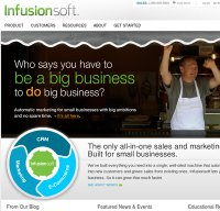 infusionsoft.com screenshot
