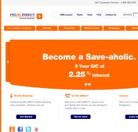 ingdirect.ca screenshot
