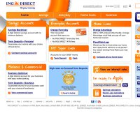 ingdirect.com.au screenshot