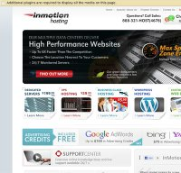 inmotionhosting.com screenshot