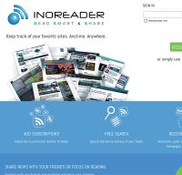 inoreader.com screenshot