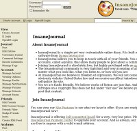 insanejournal.com screenshot