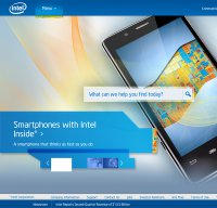intel.com screenshot