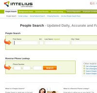 intelius.com screenshot