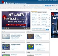 intellicast.com screenshot