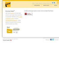 interac.ca screenshot