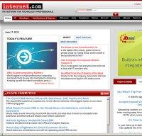 internet.com screenshot