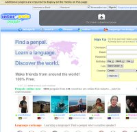interpals.net screenshot