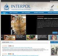 interpol.int screenshot