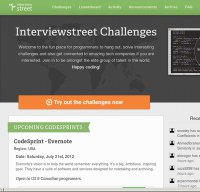 interviewstreet.com screenshot