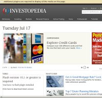 investopedia.com screenshot