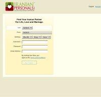 iranianpersonals.com screenshot