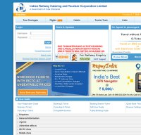irctc.co.in screenshot