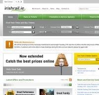 irishrail.ie screenshot