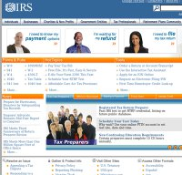 irs.gov screenshot
