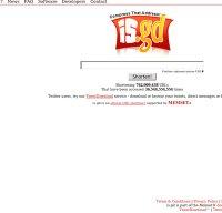 is.gd screenshot