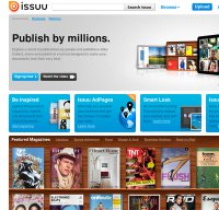 issuu.com screenshot