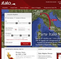 italotreno.it screenshot