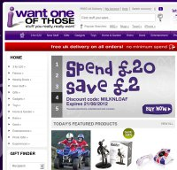 iwantoneofthose.com screenshot