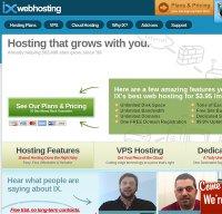ixwebhosting.com screenshot