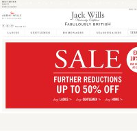 jackwills.com screenshot