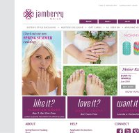 jamberrynails.net screenshot