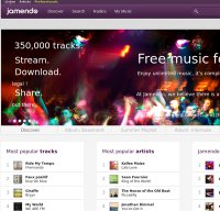 jamendo.com screenshot