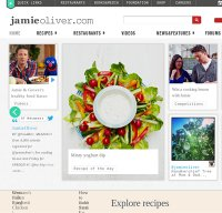 jamieoliver.com screenshot