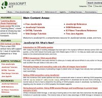 javascriptkit.com screenshot