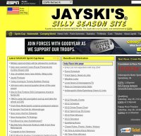jayski.com screenshot