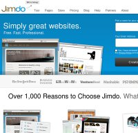 jimdo.com screenshot