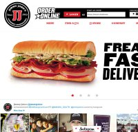 jimmyjohns.com screenshot