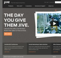 jivesoftware.com screenshot