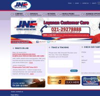 jne.co.id screenshot