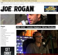 joerogan.net screenshot