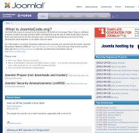 joomlacode.org screenshot