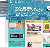 joycemeyer.org screenshot