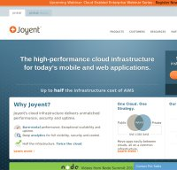 joyent.com screenshot