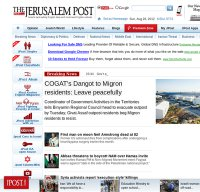 jpost.com screenshot
