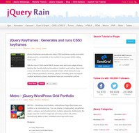 jqueryrain.com screenshot