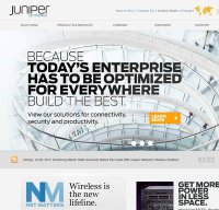 juniper.net screenshot