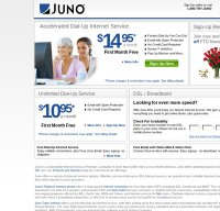 juno.com screenshot