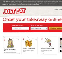 just-eat.co.uk screenshot