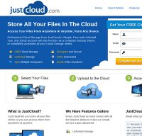 justcloud.com screenshot