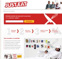justeat.nl screenshot