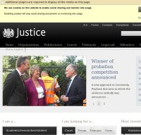 justice.gov.uk screenshot