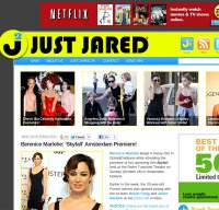 justjared.com screenshot