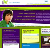 k12.com screenshot