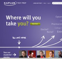 kaptest.com screenshot