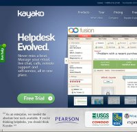 kayako.com screenshot
